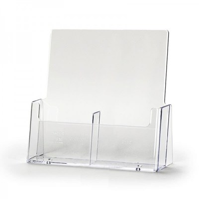 Tischständer - Mehrfach Einlegeformat: Lang-DIN (105x210 mm) Lang-DIN (105x210 mm) - dispenser-lang-din-2c112