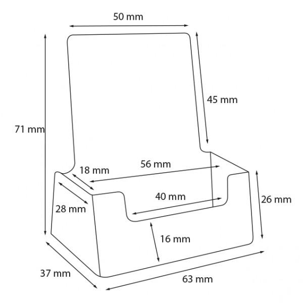 Dispenser-Visitenkarten-60x90-Hochformat-PRO215-Zeichnung