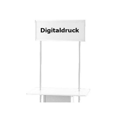 Druck Topschild ALLEGRO®-Sechsecktheke Digitaldruck auf Topschild für Sechseck- theke mit und ohne Baraufsatz - Zubeh r-Topschild-Digitaldruck 6