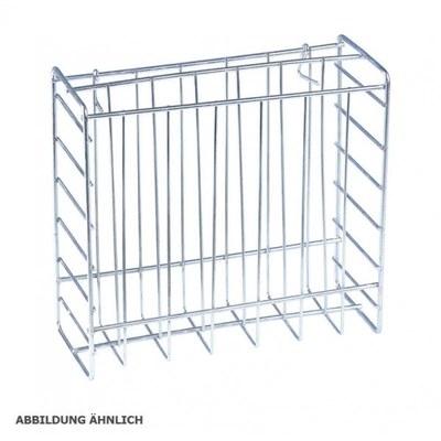 Prospektkorb Kundenstopper Material: verzinkter Stahldraht DIN A4 (210x297 mm) - kundenstopper-zubeh r-premium-korb 1